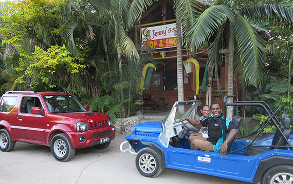 Driving in Vanuatu